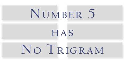 trigram5none